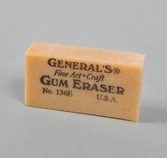 Gum Eraser. They crumbled when you erased with them after a few uses.