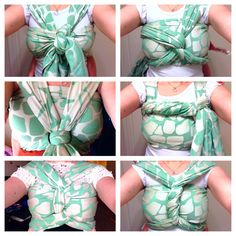 Babywearing <3 Pretty woven wrap finishes <3 How things get done with a LO ;)