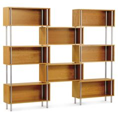 Blu Dot Chicago 8 Box bookshelf wall unit in Cherry (also Graphite and Maple), $1899.00