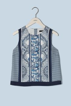 The Woodseer Cropped Top - part of The V&A Collection.