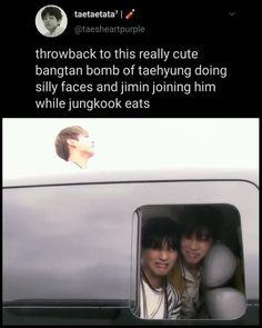 Bts Taehyung, Bts Bangtan Boy, Bts Jungkook, Bts Memes Hilarious, Bts Funny Videos, Bts Facts, Hoseok, Bts Maknae Line, Bts Tweet