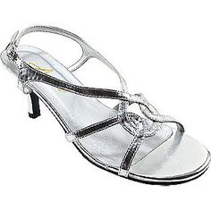 Women's Swirl - Silver Synthetic- Annie $39.95