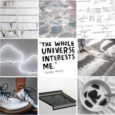 INTP aesthetic. Not so much with silver shoes, though -- I mean, black brogues, please. Or brown. Different coloured board though, I guess. Oh all right: as you were.