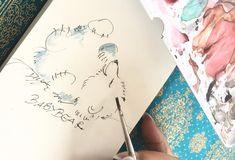 Paulchen, das kichernde Eisbärbaby, ist ganz schnell gezeichnet. Hol Dir Deine Inspirationen auf www.creativeclub.blog!