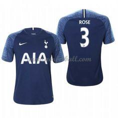 Billige Fotballdrakter Tottenham Hotspurs 2018-19 Danny Rose 3 Bortedrakt Kortermet Danny, Tottenham Hotspur, Premier League, Tops, Fashion, Moda, Fashion Styles, Fasion