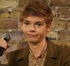 Thomas Brodie Sangster OOOMMMMGGGGG!!!!!! I cant even I just cant even! he is like PERF TO THE MAX! HIS SASSY FACE THiNG IS SO ADORABLE