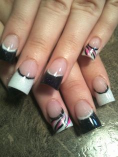 This is the shape how my old nail tech in AZ did my nails for 9 years, I miss her and my nails. :(