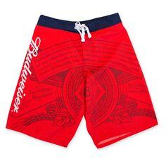 e60ff96fd8 Budweiser Men's Board Shorts (Medium) Budweiser Products, Swim Trunks, Beer,  Mens