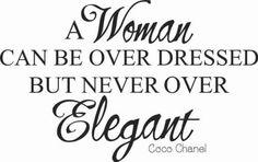 Coco Chanel!