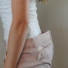 Comment retoucher un jean qui baille dans le dos