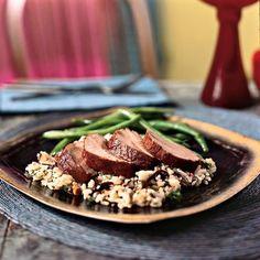 Pork Tenderloin with Pomegranate Glaze