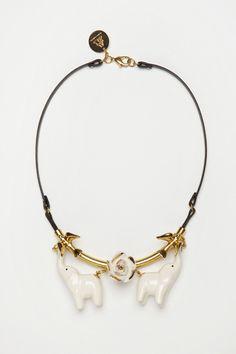 ONIRIC ELEPHANT Andres Gallardo ceramica necklace