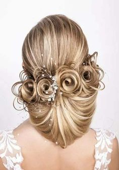 hair styles and beardhair styles and colours for 2019 Up Hairstyles, Pretty Hairstyles, Wedding Hairstyles, Competition Hair, Beauty And Fashion, Fashion Fashion, Hair Color For Women, Natural Hair Styles, Long Hair Styles