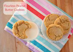 Gluten free peanut butter cookies.