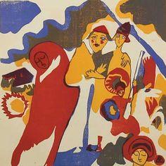 Wassily Kandinsky, Allerheiligen