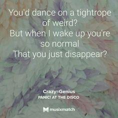 Crazy equals genius