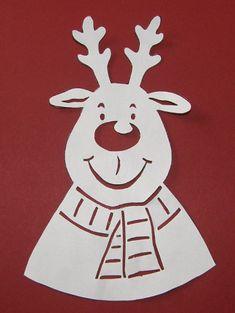 Zimné vystrihovačky na okno - Aktivity pre deti, pracovné listy, online testy a iné Christmas Crafts, Xmas, Crafts For Kids, Clock, Disney Characters, Hobbit, Diy, School, Windows