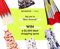 Enter to win a $1,000 shopping spree! Enter now: http://r29.co/1GawEjJ
