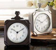 Square Pocket Watch Clock #potterybarn