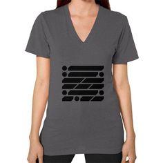 M_O_R_S_E Dark Variant V-Neck (on woman) Shirt