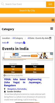 India's #Largest Mobile App - Read Daily News, Post/Report News as a Citizen Journalist, Your Personal City Guide - where to eat, shop, travel etc., View Free #Videos and #Jokes, Local City Search of more than 350 cities and towns from all over India, Pin code Search, Latest Events in your city, Daily Horoscope, Festivals of India, Post Obituaries and Tributes, Free Website Builder, #Raise your Voice - Report local issues and problems of your city.