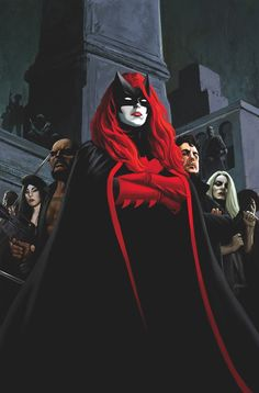 """comic-book-ladies: """"Batwoman #3 cover by Steve Epting """""""