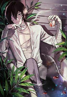 Dazai Bungou Stray Dogs, Stray Dogs Anime, Manga Anime, Anime Art, Dazai Osamu, Papi, Cute Anime Guys, Anime Boys, Anime Characters