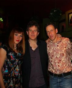 "Lydia & Nick with Steve Wynn [The Dream Syndicate] Dustbowl is an Americana, Alternative Country Rock band from Athens, Greece. They call their music Mother Earth Rock! Dustbowl formed in 2006 and their last album is called ""The Great Fandango""."
