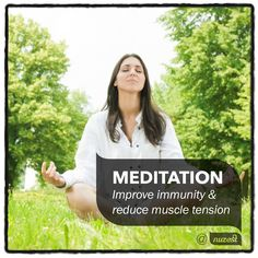 It is nearing the end of the year and the chaos of the festive season is upon us.  There is no better time than now to stop and take 20 minutes out of your day to meditate. Mediation is the ultimate mind and body exercise. It improves your breathing, strengthens your immunity and reduces muscle tension. Now all you need to do is find a quiet place, close your eyes and focus on your breath. It's that easy. #nuzest #NuZestExerciseTip