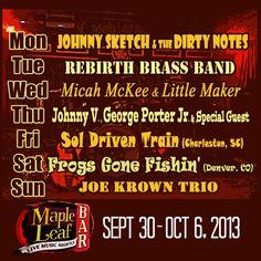This week @mapleleafnola @Marc Paradis @rebirthbb  @littlemakernola @SolDrivenTrain @frogsgonefishin #nola