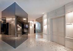 Interior at 5 star hotel: La Maison Champs Elysees. This hotel's address is: 8 Rue Jean Gougon Champs Elysées Paris 75008 and have 57 rooms Ancient Aliens, Palaces, Hotel France, Paris France, Paris Rue, Tinted Mirror, Hotel Decor, Paris Hotels, Restaurant