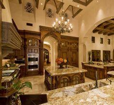 Luxury Kitchens Unique Small And Medium Kitchens - Home Design Ideas Luxury Kitchens, Cool Kitchens, Dream Kitchens, Custom Kitchens, White Kitchens, Open Kitchens, Beautiful Kitchens, Beautiful Homes, Elegant Kitchens
