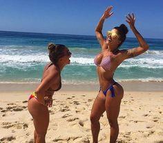 A folia já passou, mas Aline Riscado não descuida do corpo. Após treinar, a morena compartilhou mome... - Instagram