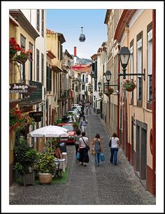 Old Town Funchal, Portugal Copyright: Christian Loste