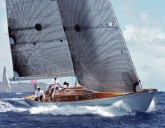 Under racing Sails - Continous fibre Spirit 52 ft Sloop 2012 boat for sale
