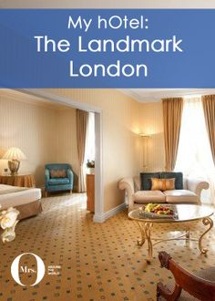 My review of the Landmark London Hotel, a London classic which needs a bit of TLC. It is quite old-fashioned but comfortable. It is tired in terms of decor and it shows. The room was really large for London standards and although the hotel needs a refurbishment, in my honest opinion, the rooms were comfortable.