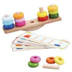 Juego de colores y equilibrio balance stacking game