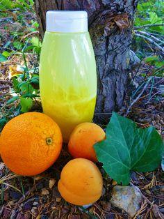 Gel Douche Abricot - Orange