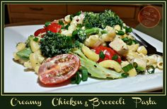Creamy Chicken & Broccoli Pasta is on the menu at our house tonight. This is one of my favorite go to meals when I'm late getting home or just don't want...