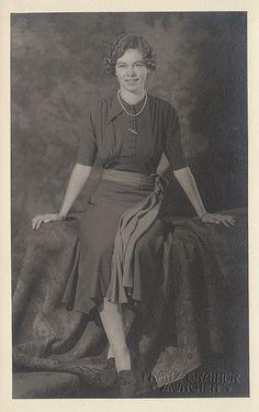 MADRE DE LA REINA SOFIA DE ESPAÑA   Princess Friederike of Hanover, future Queen of Greece