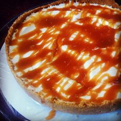 Paleo Salted Caramel Cheesecake