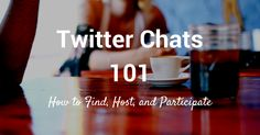 Whether you're a Twitter pro or newer to the network, whether you plan to host your own chat or if you look forward to participating in others, a bit of advance preparation could help. Here's what we've discovered so far to help you make the most of Twitter chats.