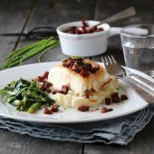 MARENGS MED MØRK SJOKOLADE OG MANDLER | TRINES MATBLOGG Potato Salad, Potatoes, Ethnic Recipes, Food, Potato, Essen, Yemek, Meals