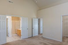 117 Briar Hollow Drive Jacksonville, NC by JG Homes, INC  |  Vaulted ceilings in the spacious master bedroom.
