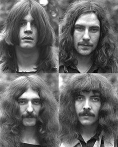 Black Sabbath and bands like Led Zeplin helped make long shaggy hair popular