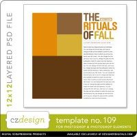 Cathy Zielske's Layered Template No. 109