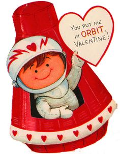 valentines card recycled