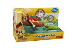 Fisher-Price Disney's Jake and The Never Land Pirates Chasing Tick Tock Bath Toy