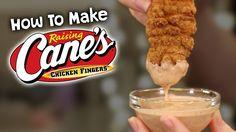 Raising Canes Chicken Tenders & Canes Sauce Recipe