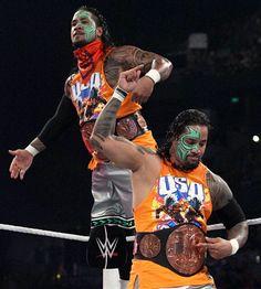 WWE Tag Team Champions, The Usos